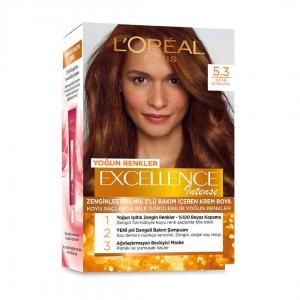 Loreal Excellence Saç Boyası Intense 5.3 Sıcak Çikolata