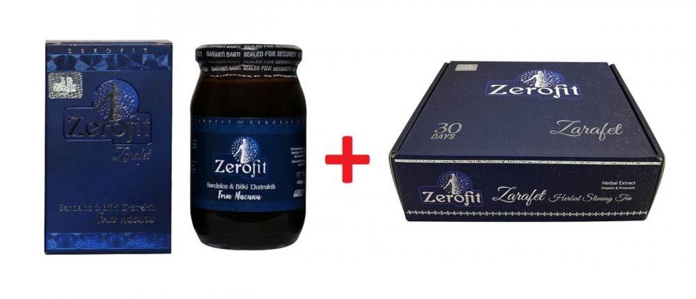 Zerofit Macunu 450 gr + Zerofit Çay 30 days Zerofit form seti