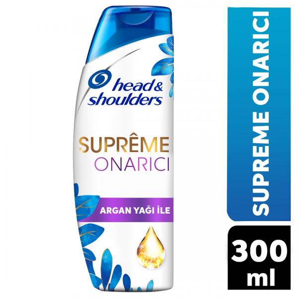 Head & Shoulders Supreme Onarıcı Argan Yağlı Şampuan 300 ml