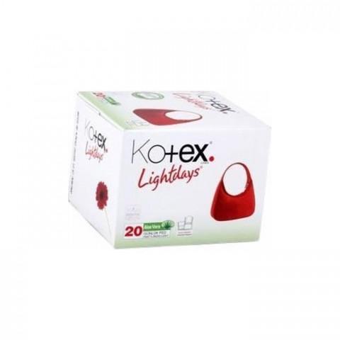 Kotex Lıghtdays İnce Parfümlü 20li Günlük Kadın Pedi