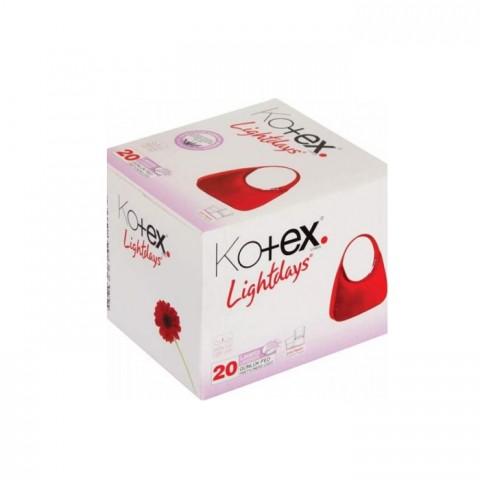 Kotex Lıghtdays İnce Parfümsüz 20li Günlük Kadın Pedi