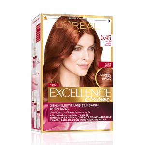 Loreal Excellence Saç Boyası 6.45 Bakır Kahve
