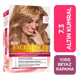 Loreal Excellence Saç Boyası 7.3 Altın Kumral