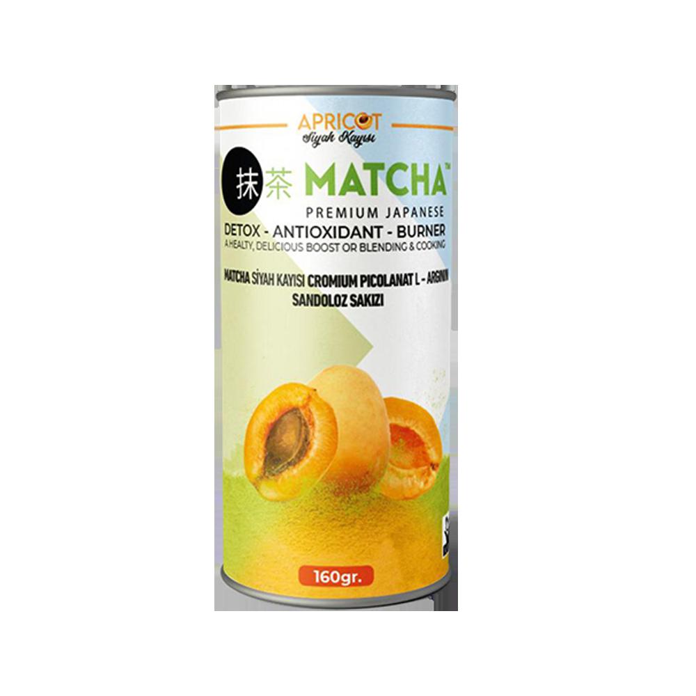 Matcha Premium Japanese Kayısı Aromalı Matcha Form Çayı 20 X 8 Gr