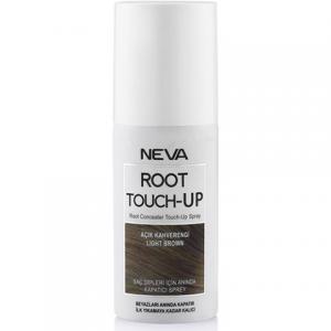 Neva Root Touch Up Beyaz Saç Dipleri İçin Anında Kapatıcı Sprey Açık Kahve 75ml