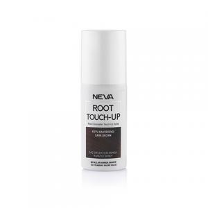Neva Root Touch Up Beyaz Saç Dipleri İçin Anında Kapatıcı Sprey Koyu Kahverengi 75ml