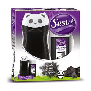 Sesu Kolay Ağda Seti Isıtıcılı Roll-On Kömürlü Panda