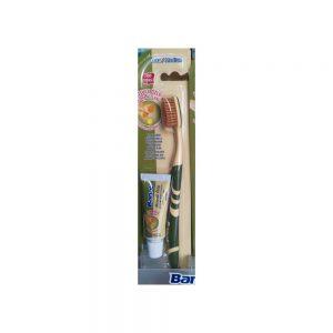Agarta Doğal Misvak Özlü Diş Fırçası Macun Hediyeli 100 ml