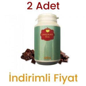 Chocolate Slim Çikolatalı Özel Karışım Shake 2 x 100 ML 100 ML 2 Adet