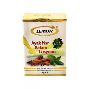 Lemor Ayak Nsr  Bakım Losyonu 10 ml yeni formül