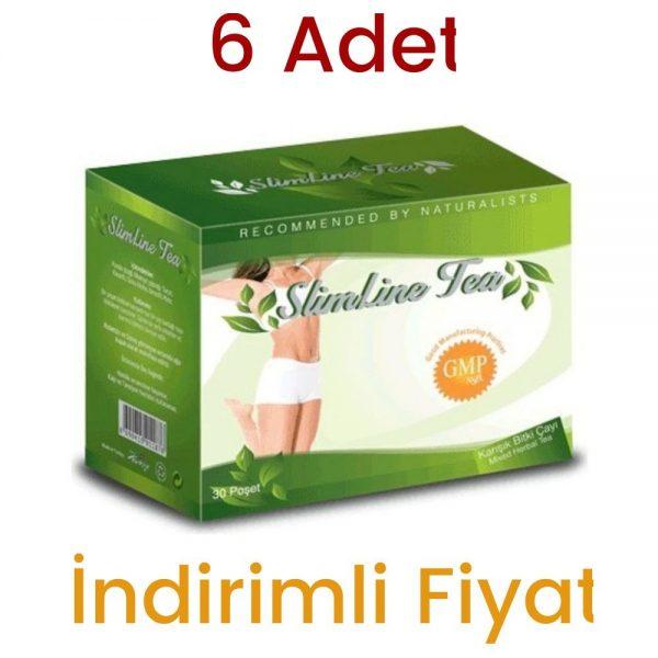 SlimLine Tea Karışık Bitki Poşet Çay 30 x 2 G