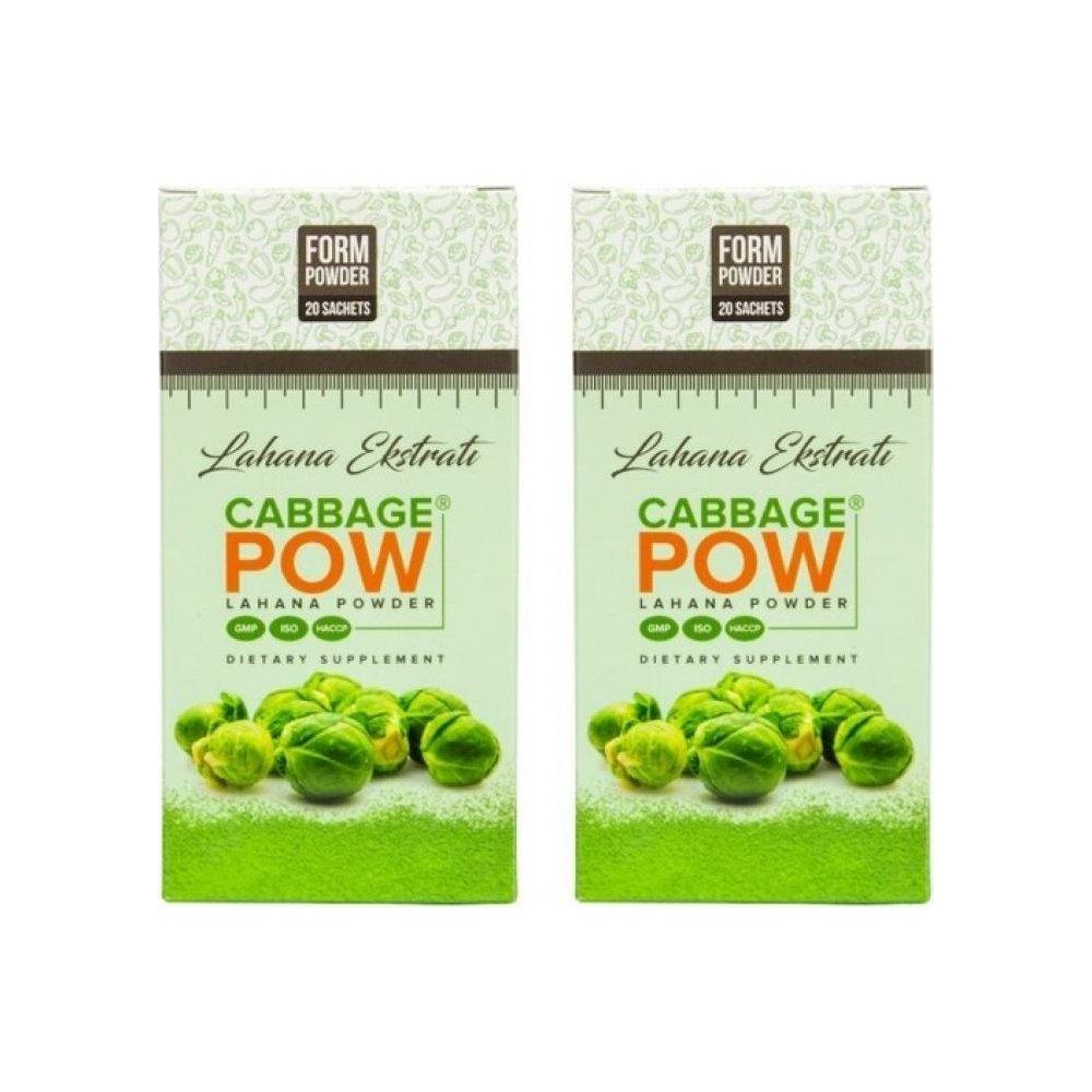 Cabbage Pow Lahana Powder Lahana Powder -Lahana Tozu 2 KUTU