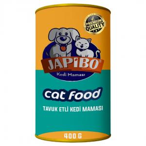 Japibo Tavuk Etli Konserve Kedi Maması 400 Gr