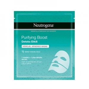 Neutrogena Yüz Maskesi Purifying Boost Detoks Etkili Hidrojel Arındırıcı 30ml