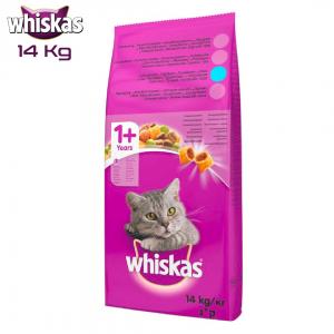 Whiskas Biftek Ve Kümes Hayvanlı Kuru Kedi Maması 14 Kg