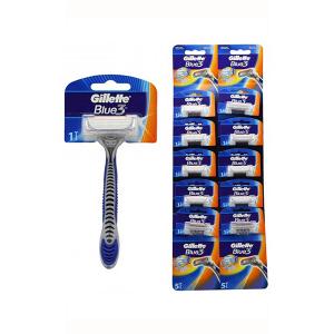 Gillette Blue3 Normal Kartela 10lu Tıraş Bıçağı